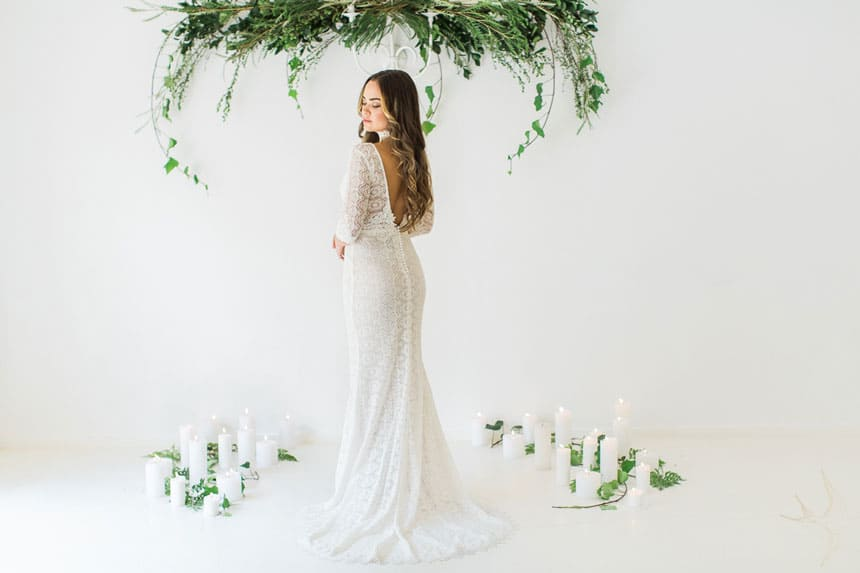 Bohemian Luxe Wedding Gowns: White Lilly Atelier from Johannesburg